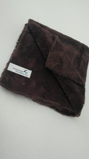 Microfibre Edgeless Brown Towel